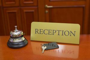 recepción hoteles