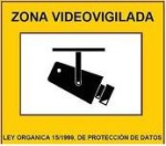 zona videovigilancia